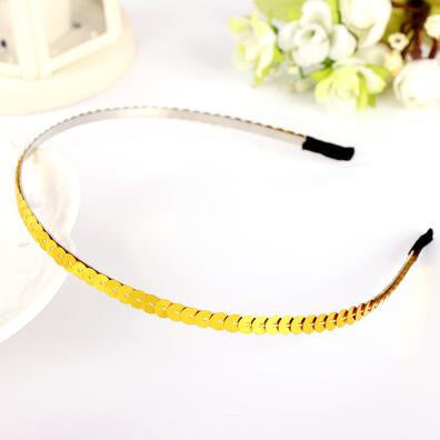 Deals Blast: New Small Round Acylic Circles Connected Hairbands Headband for Girls Headwear Hair Accessories for Women Deals Blast