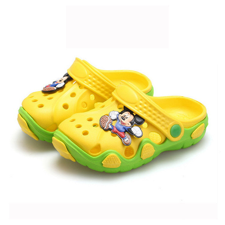 Deals Blast: Summer children shoes girls boys slippers cute cartoon comfortable fashion kids slippers anti-slip girls slippers beach shoes Deals Blast