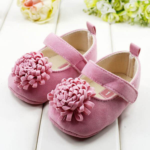 Deals Blast: Festival Flower Baby Shoes 0-1 Years Newly Born Infant Baby Girls First Walkers Kid Shoes Deals Blast