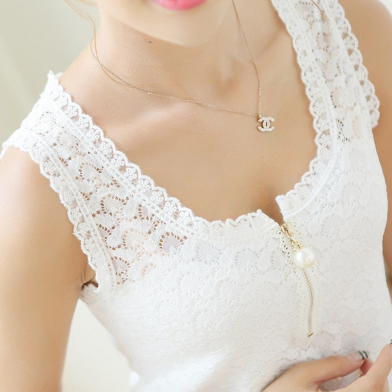Deals Blast: 2016 Fashion Ladies Tops With Lace Patchwork Women White Chiffon Blouse: Deals Blast
