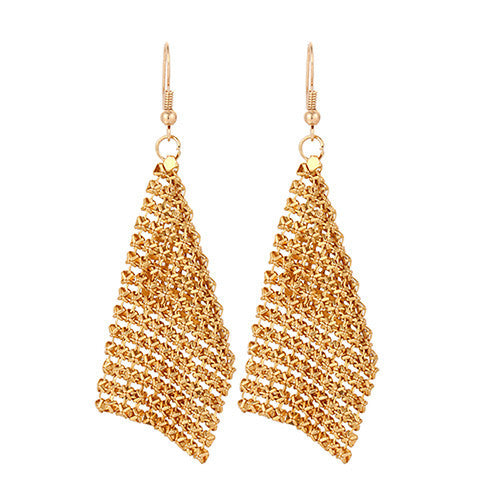 Deals Blast: 2016 gold plated dangle long earrings for women tassel Bohemia style fashion bijouterie hot sale Deals Blast