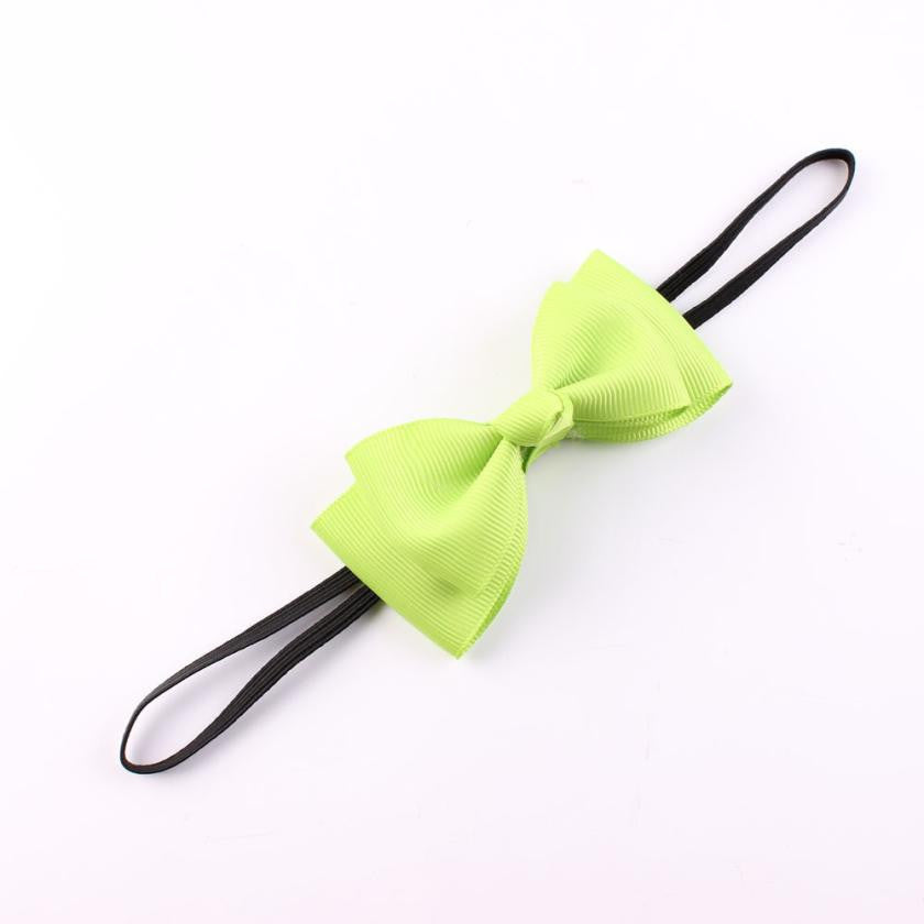 Deals Blast: Hair Accessories Bow Children's Hair Band Baby Girl's Headwear Princess Baby Newborn Cute Bowknot Hairband Deals Blast
