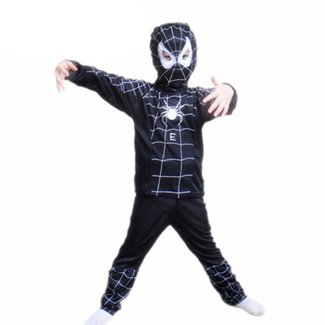 Deals Blast: Anime Cosplay Red Spiderman Costume Carnevale Kids Black Spiderman Disfraces Carnaval Karneval Costume Boys for Halloween Clothe Deals Blast
