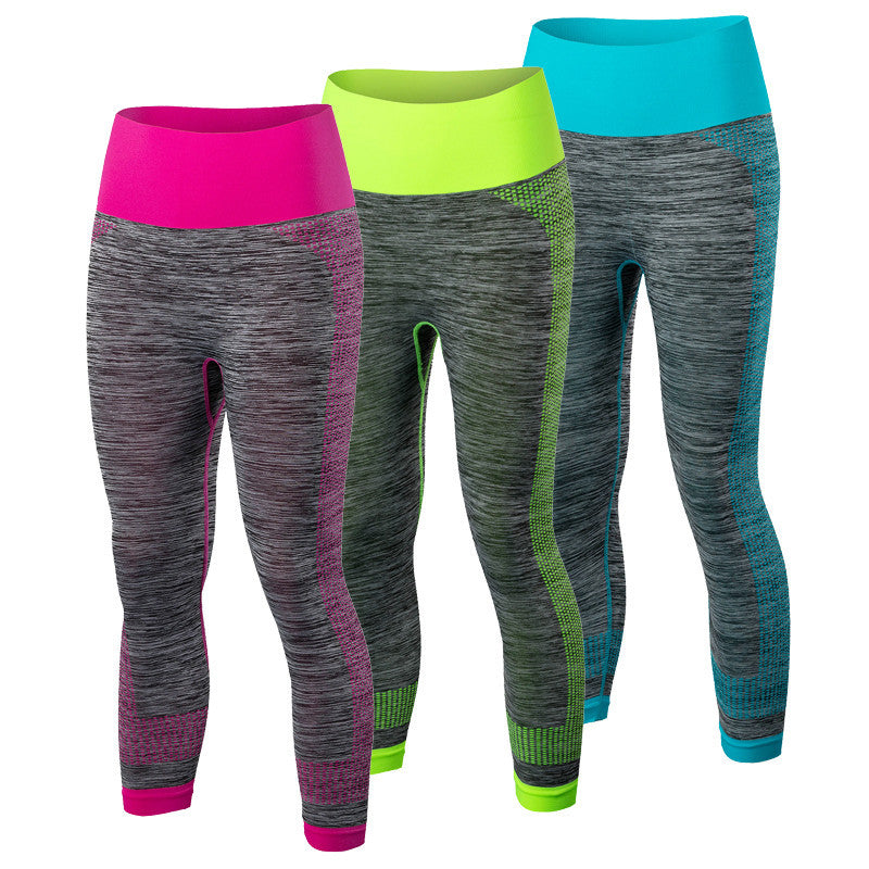 Summer Yoga Pants Women's Clothes Fitness Sports Trousers Gym Leggings Running Sport Tights Girl Fitness Yoga Running Pants 5081 Deals Blast