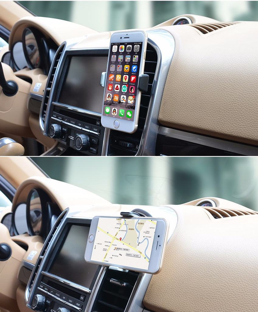 Deals Blast: Best Seller Univeral car air vent holder Cobao 360 degree rotation car cell phone holder for iPhone 5 6 6S Galaxy S4 S5 S6 Deals Blast