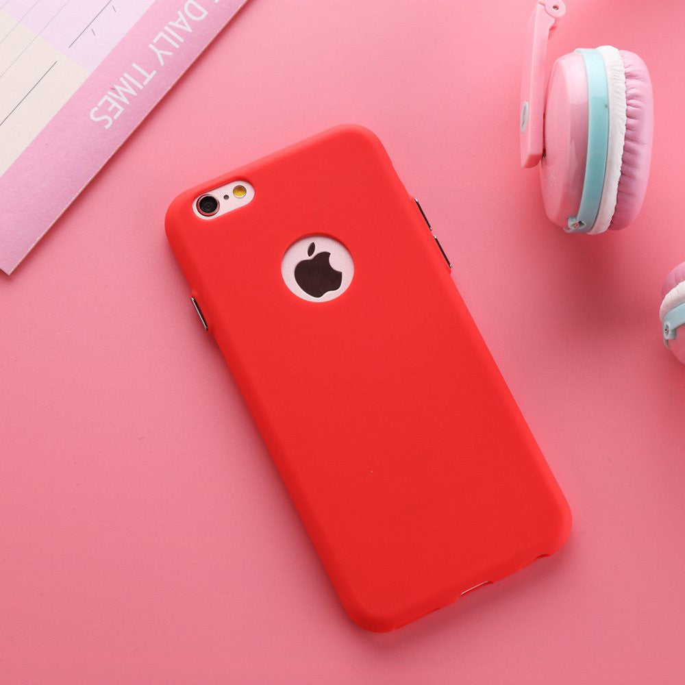 "Deals Blast: Best Seller 2016 Solid Candy Color Matte Skin Case for iPhone 6 TPU Soft Back Cover for Apple iPhone 6S 6 S New Upgraded Phone Case 4.7"" - Deals Blast"