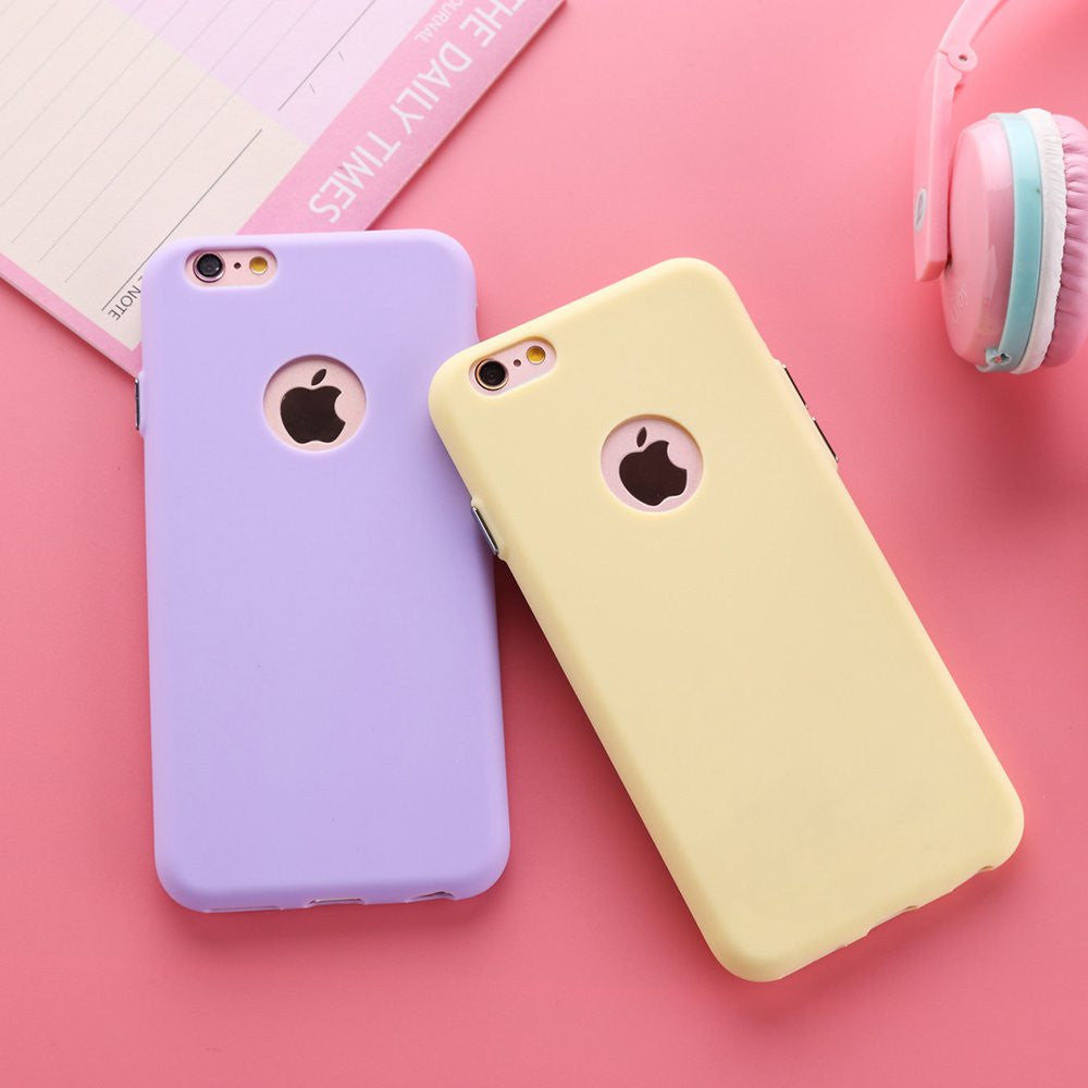 "Deals Blast: Best Seller 2016 Solid Candy Color Matte Skin Case for iPhone 6 TPU Soft Back Cover for Apple iPhone 6S 6 S New Upgraded Phone Case 4.7"" Deals Blast"