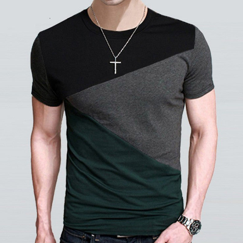 Deals Blast: Best Seller T Shirt Men Designs Slim Fit Crew Neck Mens Short Sleeve Shirt Casual tshirt homme Tee Tops Shirts Plus Size 4XL 5XL t-shirt Deals Blast