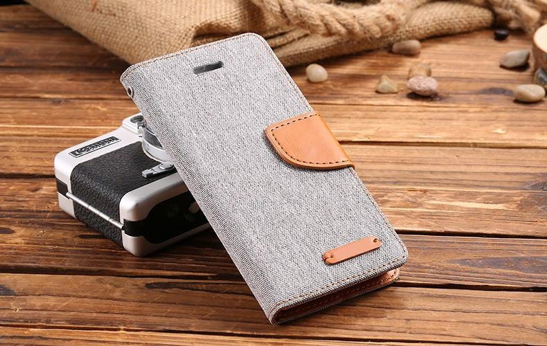 Deals Blast: Best Seller 2016 Leisure Women Man Stand Wallet Flip Case For iPhone 6 7 Fashion Hit Color Card Slot Leather Cover For iPhone 7 6s Plus With Logo Deals Blast
