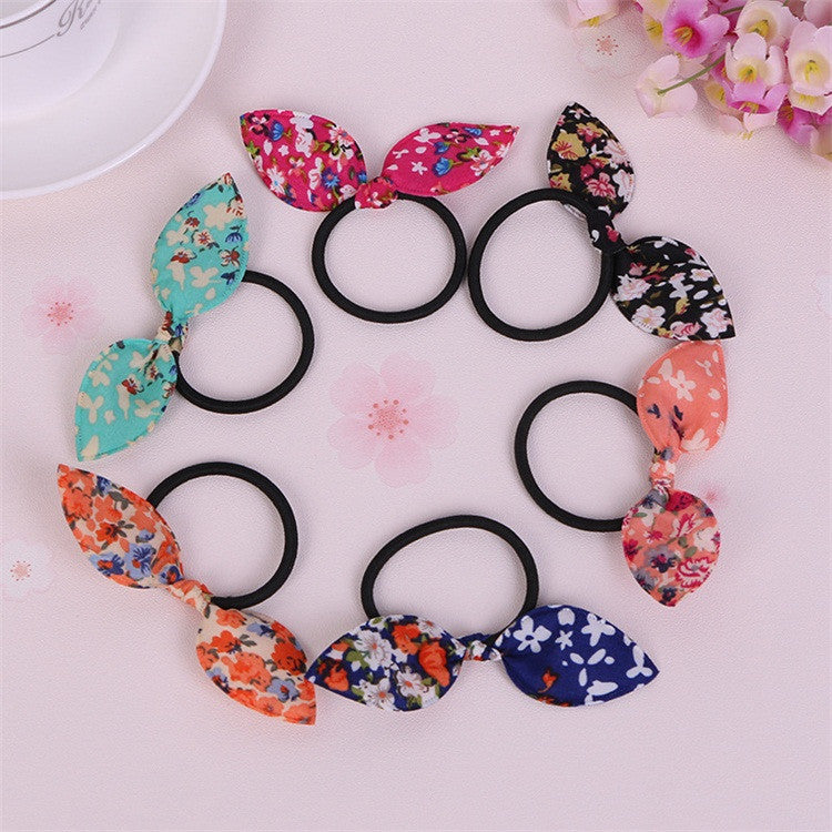 Deals Blast: 50 Styles Rabbit Ears Hair Accessories For Women Headband,Elastic Bands For Hair For Girls,Hair Band Hair Ornaments For Kids Deals Blast