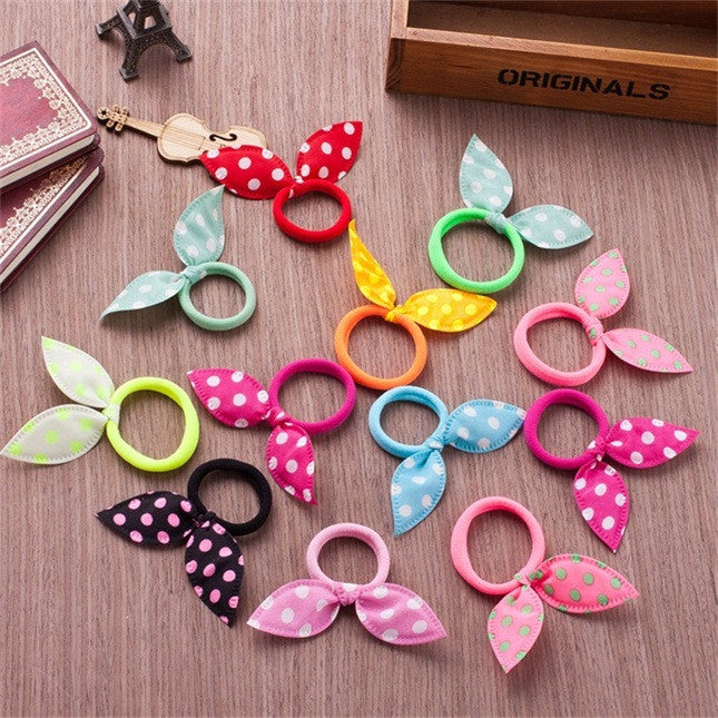 Deals Blast: 50 Styles Rabbit Ears Hair Accessories For Women Headband,Elastic Bands For Hair For Girls,Hair Band Hair Ornaments For Kids - Deals Blast