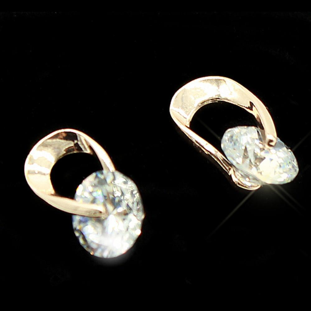 Deals Blast: Women's Jewelry Gift Gold Plated Austria Zircon Crystal Earring Eardrop Ear Studs jewelry for women 1pcs free shipping Deals Blast