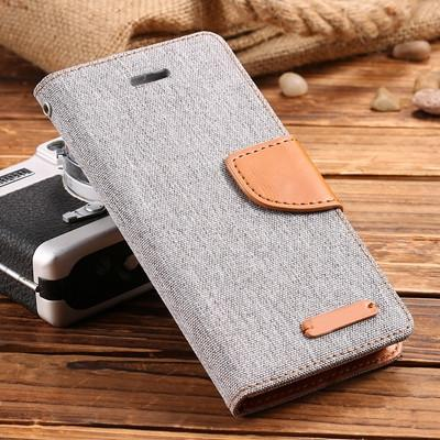 Best Seller Leisure Women Man Stand Wallet Flip Case For iPhone 6 7 Fashion Hit Color Card Slot Leather Cover For iPhone 7 6s Plus With Logo - Deals Blast