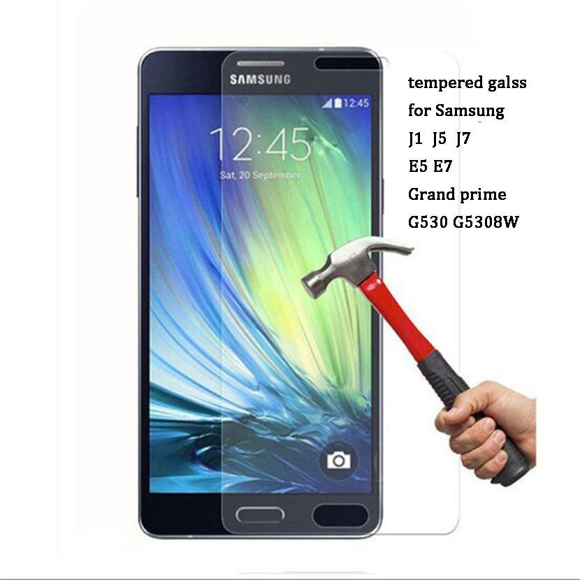 Deal Blast: ON SALE!  2.5D 9H Premium Tempered Glass film for Samsung J3 J5 J7 A3 A5 A7 2015 2016 Galaxy Grand PrimeScreen Protector Case - Deals Blast