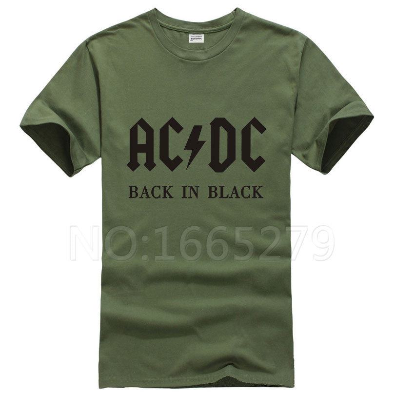 Deals Blast: 2016 New Camisetas AC/DC band rock T Shirt Mens acdc Graphic T-shirts Print Casual Tshirt Plus Size O Neck Hip Hop Short Sleeve Deals Blast