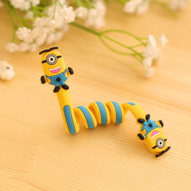 Deals Blast: 1 Pcs.Cartoon Animal Long Cable Winder Neatening Storage Sealing Clip.Headphone Winder Earphone Cord Wrap Organizer Wire Holder Deals Blast