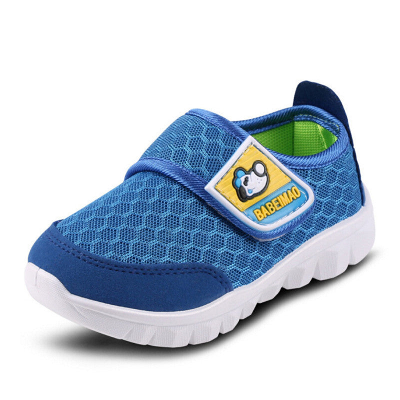 Deals Blast: Spring Children Shoes Girl Breathable Sneaker Shoe/Boys and Girls Mesh Not Smelly Feet Soft Chaussure/Kids Hardanger Sneakers Deals Blast