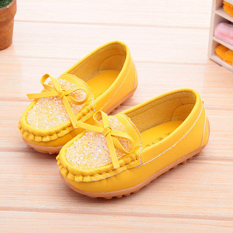 Deals Blast: New Boys Girls Soft Leather Loafer Children Shoes Fashion Breathable Sneakers For Kids Flats Oxford Shoes Toddler Little Big Kid Deals Blast