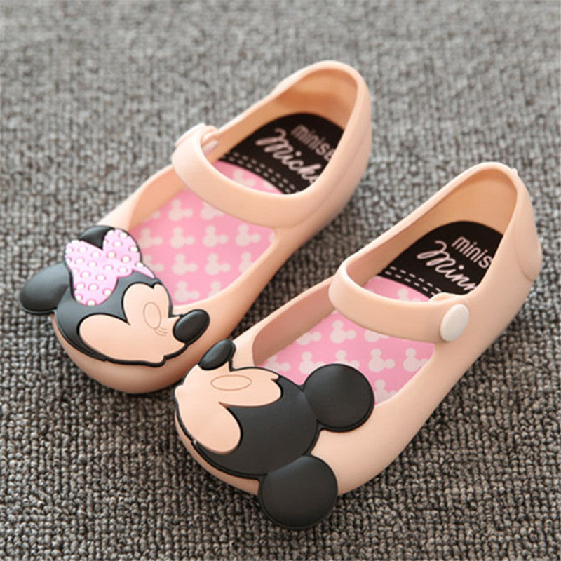 Deals Blast: Mini SED Girls shoes princess 2016 Summer Girls Sandals Cute Children Baby Shoes Sandals for girls Jelly shoes Kids sandals Deals Blast