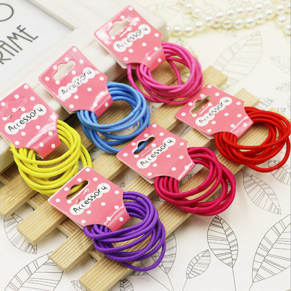 Deals Blast: Candy Color Kids Elastic Hair Rope Ponytail Band Ties Girls Hair Accessories Free Shipping & Wholesale Price Deals Blast