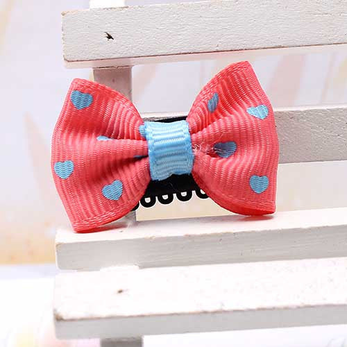 Deals Blast: Kids Hair Accessories Ribbon Bow Headwear Barrettes Hairpins Children Candy Color Headdress ornaments Hairclip for Baby Girl Deals Blast