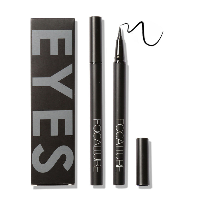 Deals Blast: new nieuwe zwarte waterproof vloeibare Black Eyeliner Liquid Make Up Beauty Eye Liner Pencil by Focallure for women makeup: Deals Blast