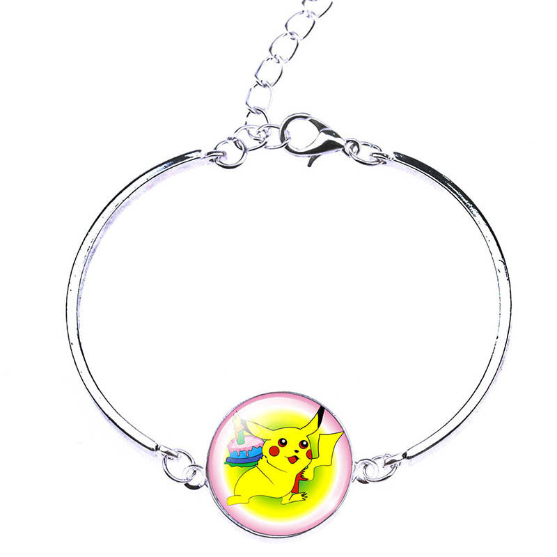 Deals Blast: New Arrival Pikachu Pokemon Bracelets & Bangles Fashion Pokeball Charm Bracelets Jewelry For Women Pokemon Go Women Bracelets - Deals Blast