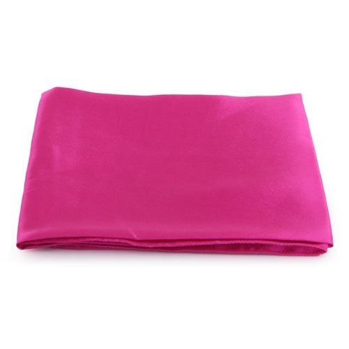 10 PCS New Hot Pink Cloth Napkins Satin for Banquet Dinner Party - Deals Blast