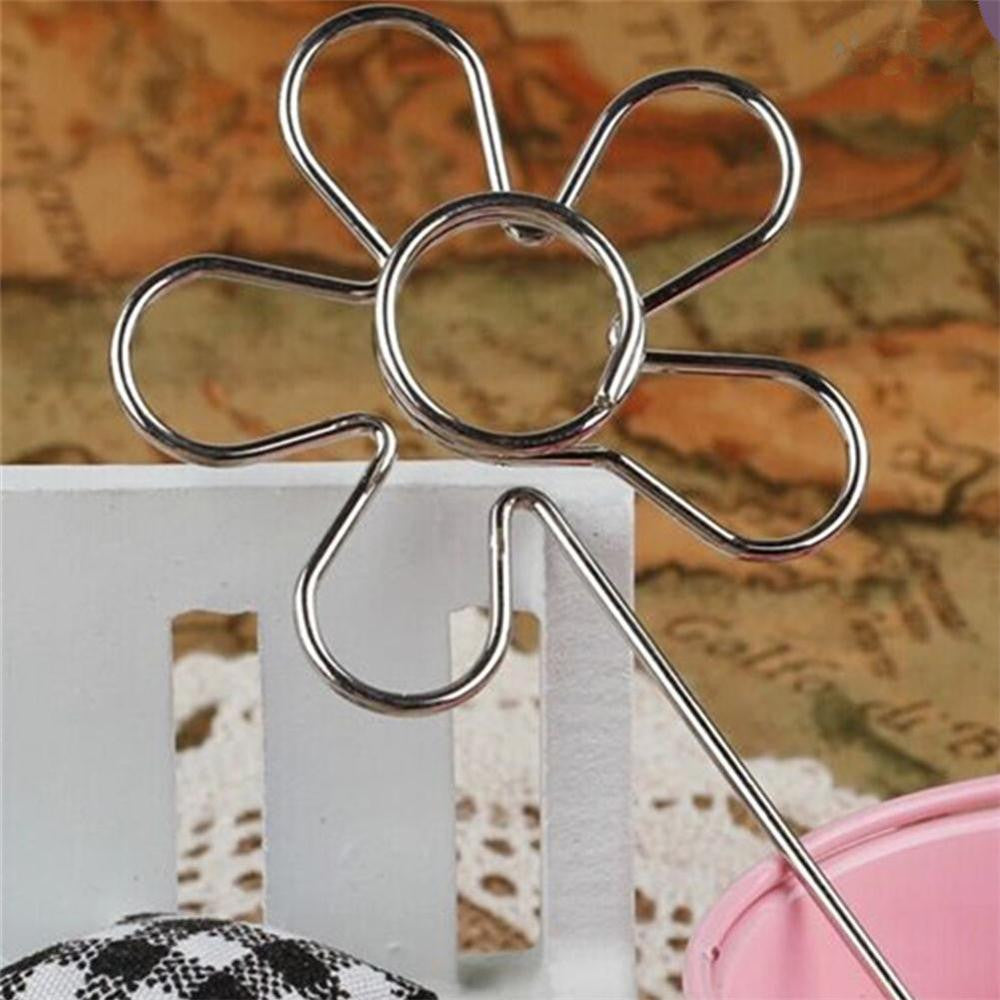 Deals Blast: Stainless Steel Heart Shape Craft New Wire Clip Card Note Photo Memo Holder Clips Metal Clamp Cake Accessories Decor: Deals Blast