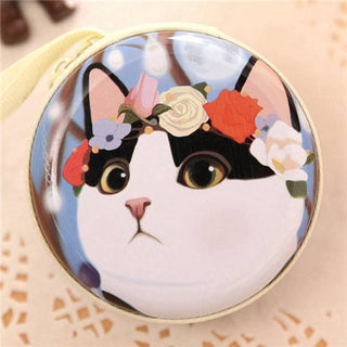 New Small Earphone Wallet Pouch Coin Purse Cute Kids Cartoon Wallet Bag Coin Pouch Children Purse Holder Women Coin Wallet - Deals Blast