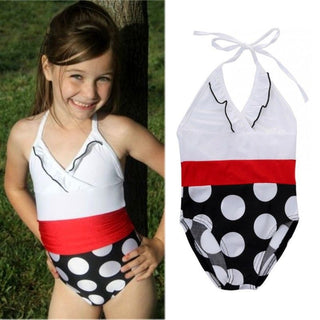 2016 Girls Kids Baby Swimsuit Bathing Suit Swimwear Bikini Swim Costume 2-7Y - Deals Blast