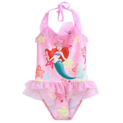 2016 Kid Girls Baby Mermaid Fancy One-piece Beachwear Swimwear Swimsuit Baby Summer Clothes - Deals Blast