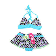 Imaka Children Swimwear Girl Lacing Swimwear Beach Baby Kids Bikini Set 2016 Bathing Suit Kids Swimming Suits Deals Blast
