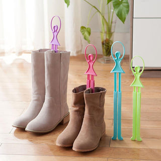 Deals Blast: Super Deal Girl Ballet Scalable Tree Shoes Table Shoe Rack Long Boots Stays Folder Deals Blast