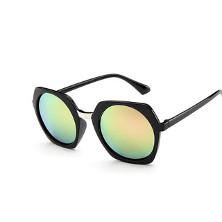 Deals Blast: Vintage Oval Female Sunglasses Women Brand Designer Retro Ladies Feminine Hexagonal Sun Glasses Women's Glasses Goggles - Deals Blast