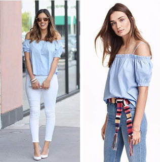 Fashionable Striped summer women tops big sizes plus size women clothing striped top casual slash-neck loose blouse - Deals Blast