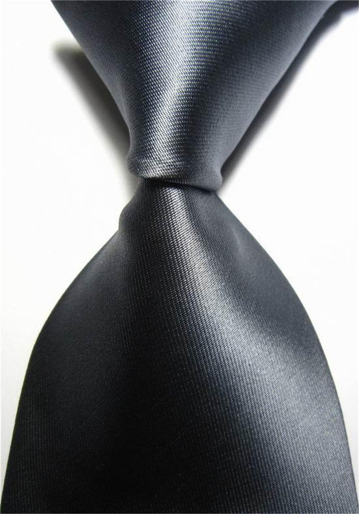 Deals Blast: Business Accessories Men's Tie for Men Geometric Pattern 7.5cm Silk Necktie Black White Neckties for Men Wedding Deals Blast