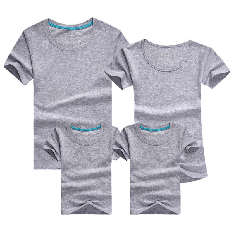 1pc Family Matching Baby And Mother Matching Clothes Solid Short Sleeve Couple T Shirt Bambino E La Madre Vestiti Di Corrisponde Deals Blast
