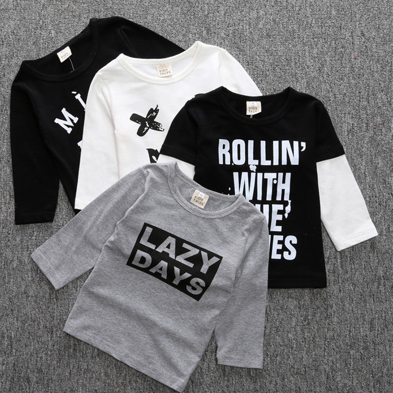 2016 Baby Boy T Shirt Cross Kids Clothes Brand Toddler Boys Clothing Children T Shirts Kid Tees Roupa Infantil Meninos Camisetas - Deals Blast