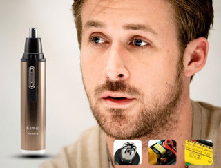 Deals Blast: Men Ear Nose Neck Face Eyebrow Hair Beard Shaver Trimmer Clipper Remover Cleaner: Deals Blast
