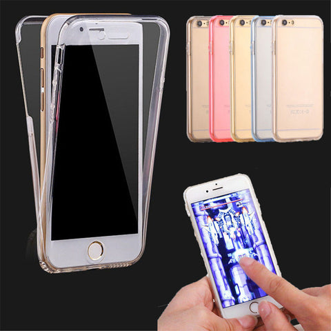 Deals Blast: Flexible Soft 360 Silicone Mobile Phone Cover Cases For Huawei P8 P9 Lite Samsung J5 J7 Apple iPhone 5 5S SE 6 6S 7 Plus Protector Phone Case