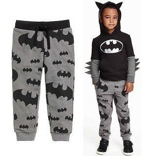 2017 New Casual Pants Sport Clothes Cool Boys Kids Cartoon Batman Trousers 2-7T Deals Blast