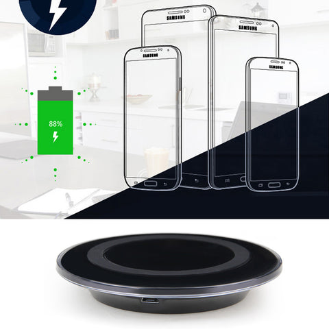 Deals Blast: Wireless Charger Fast Charger for Samsung S6 Fast Wireless Charging Station Pad  Dock Stand USB Wireless charging stand