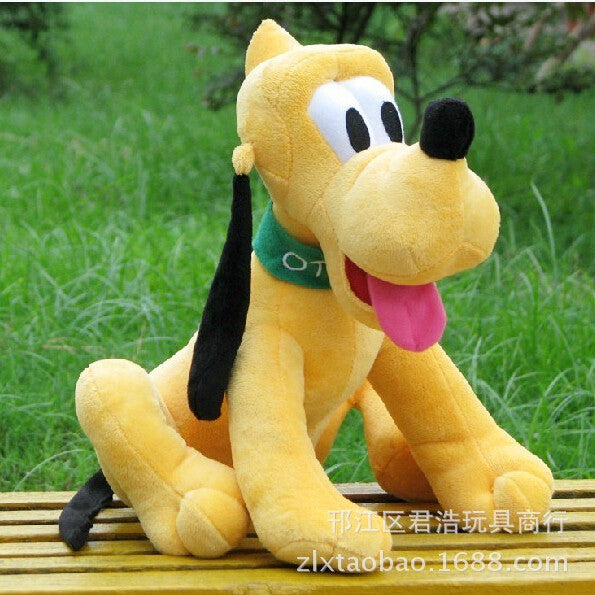 1pcs/lot 30cm Sitting Plush Pluto Dog Doll Soft Toys stuffed animals toys for children Mickey Minnie For kids girls Gifts - Deals Blast