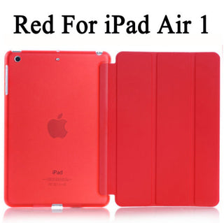 For iPad Air / Air2 Sleeping Wakup Ultral Slim Smart Cover For iPad 5 / 6 Leather Case Deals Blast