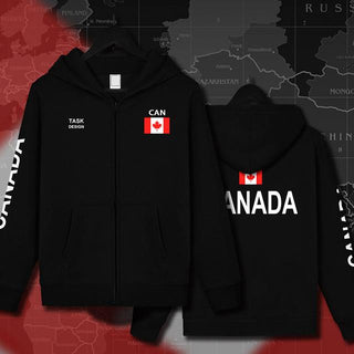 Canada Canadians CA CAN Men Women Hoodies Sweatshirts Sportswear Printed Clothing