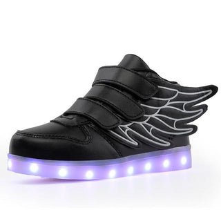 LED luminous for kids children casual shoes glowing usb charging boys & girls sneaker: Deals Blast