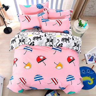 Cartoon Owl Superman Batman Bedding Sets 3pcs/4pcs Bed Linen Bed Set Duvet Cover Bed Sheet Pillowcase King/queen 6 Size