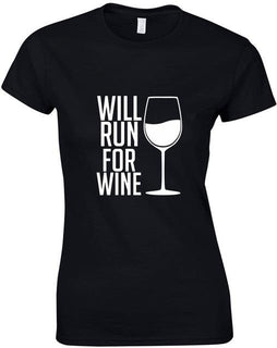 Stranger Things T Shirt Will Run For Wine Shirts For Women
