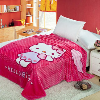 Girls' Hello Kitty Blanket - Deals Blast